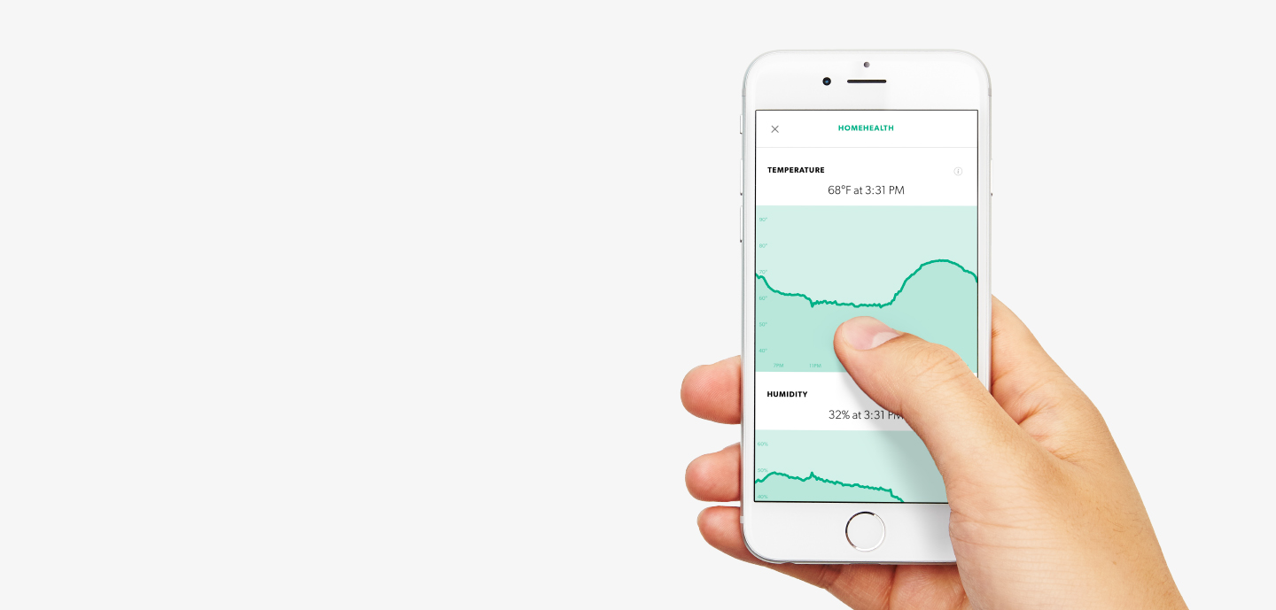 View HomeHealth data with the Canary app