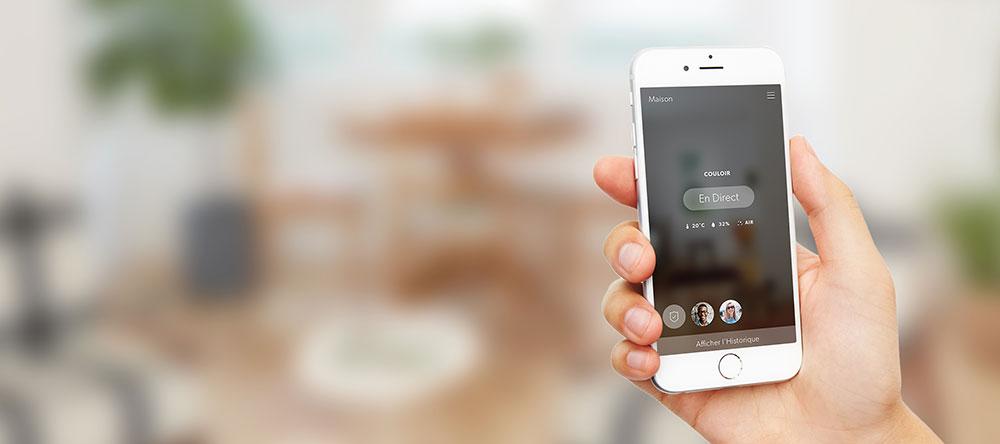 Veillez sur votre domicile en temps réel, où que vous soyez